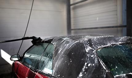 Cabriodachreinigung • Eifel-Wash